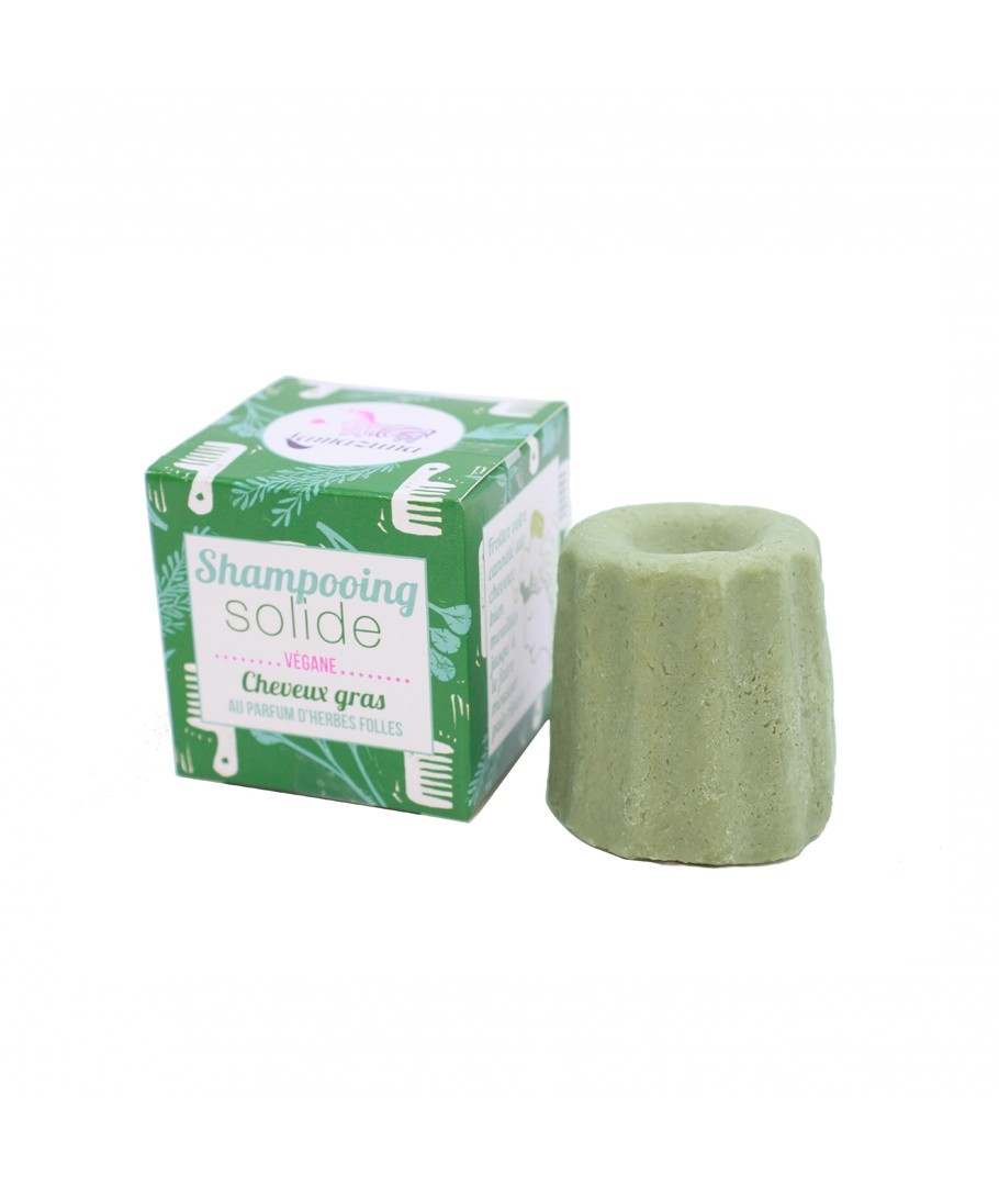 Shampoing SOLIDE Herbes Folles Lamazuna