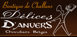 Délices d'anvers, chocolats belges.